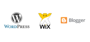 ¿WordPress, Wix o Blogger?